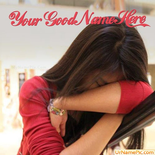 Design your own names of Broken Girl Crying