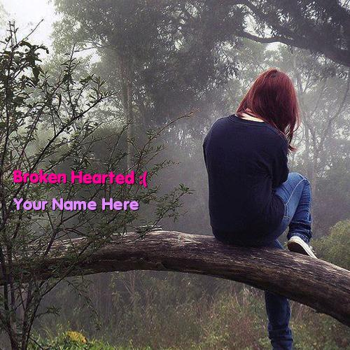Design your own names of Broken Hearted