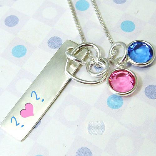 Design your own names of Colorful Pendant Alphabets
