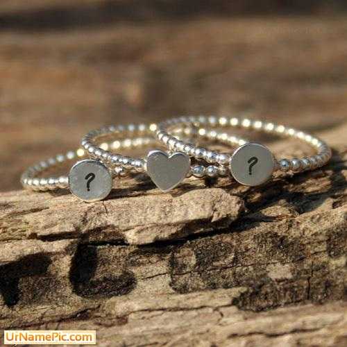 Design your own names of Couple Bracelets