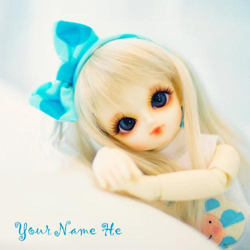 Design your own names of Cute Little Doll