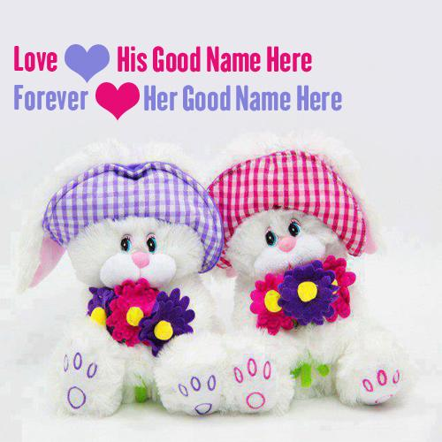 Design your own names of Cute Love Forever
