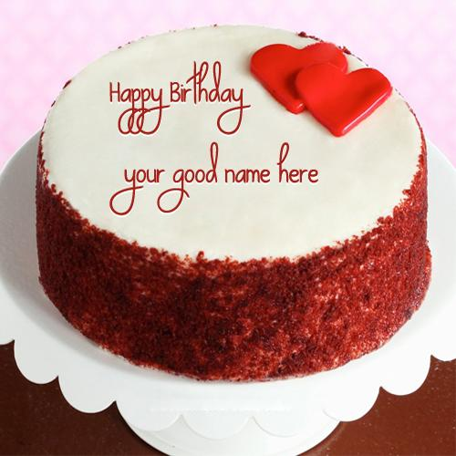 Design your own names of Happy Birthday Cake
