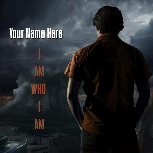 Design your own names of I AM WHO I AM