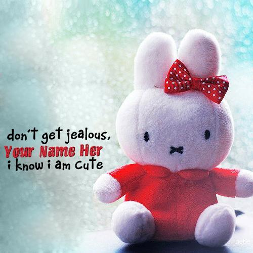 Design your own names of I know I am cute