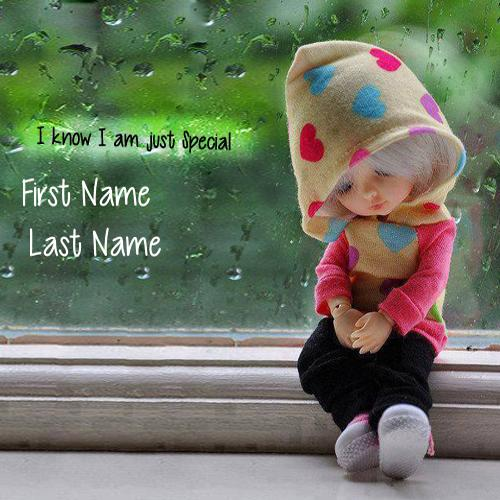 Design your own names of I know I am just Special
