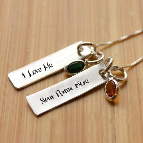 Design your own names of I Love Me Necklace