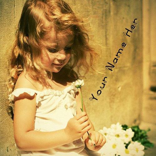 Design your own names of Innocent Little Girl