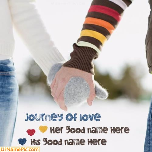 Design your own names of Journey Of Love