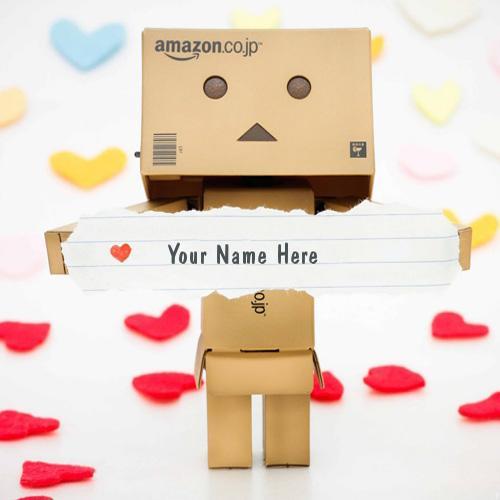 Design your own names of Lovely Danbo