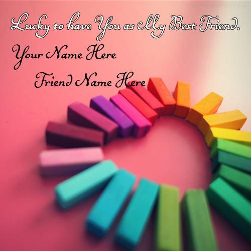Design your own names of Lucky Best Friends