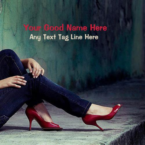 Design your own names of My Red Heels