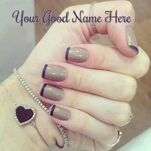 Design your own names of Nail Art