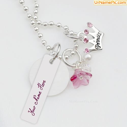 Princess Necklace Name Picture - Jewelry Name Generator