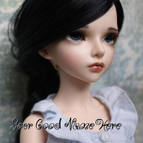 Design your own names of Sizzling Doll