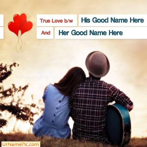 Design your own names of True Couple Love
