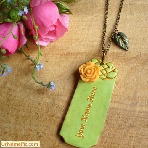 Design your own names of Vintage Bar Necklace