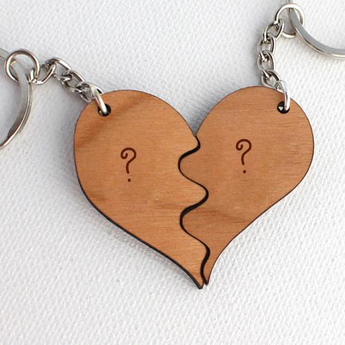 Design your own names of Wooden Heart