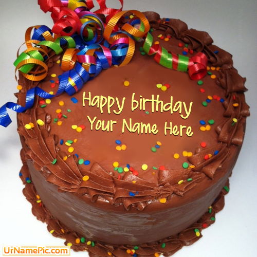 Write name on Party Birthday Cake happy birthday cake with name