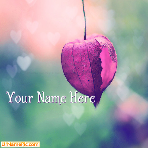 Design your own names of Purple Flower