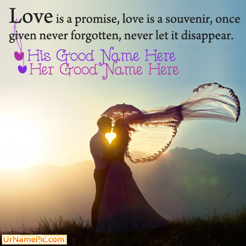 Design your own names of Romantic Quotes