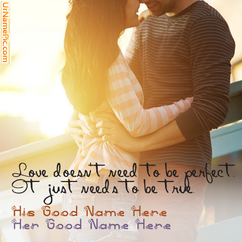 Design your own names of Romantic Stylish Couple