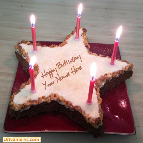 Design Your Own Names Of Star Birthday Cake