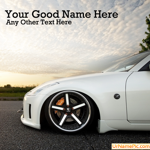 Design your own names of Ultimate Car
