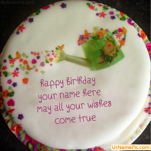 Cake Images With Name Mohan : Write name on Wish Birthday Cake - happy birthday cake ...